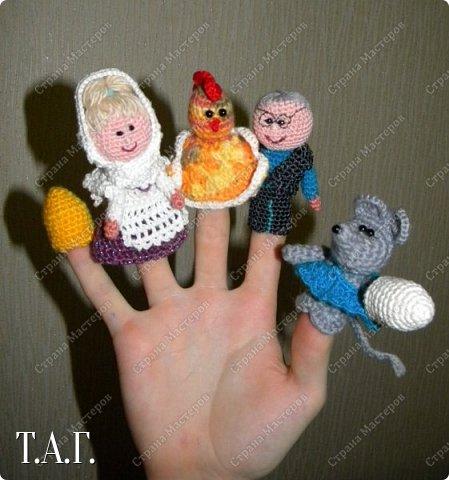 Продолжаю вязать пальчиковые игрушки для внука.  фото 2