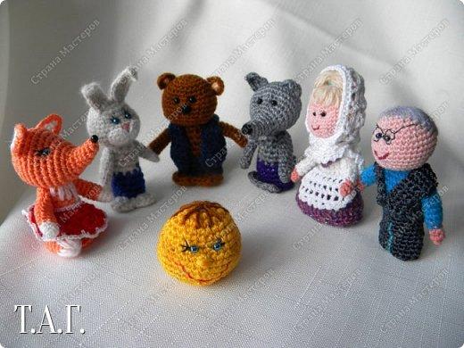 Продолжаю вязать пальчиковые игрушки для внука.  фото 12