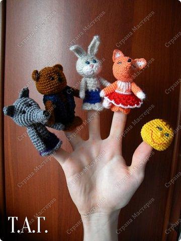 Продолжаю вязать пальчиковые игрушки для внука.  фото 13