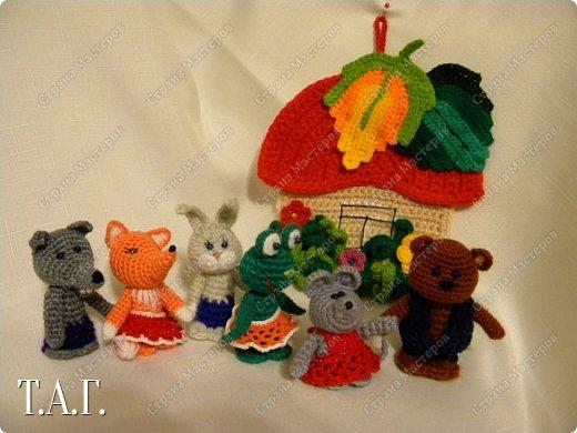 Продолжаю вязать пальчиковые игрушки для внука.  фото 14