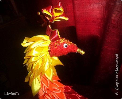 """Такую птичку смастерила Вика для участия в районной выставке-конкурсе. Одна из номинаций """"Пожарная ярмарка"""" фото 4"""