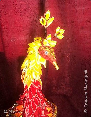 """Такую птичку смастерила Вика для участия в районной выставке-конкурсе. Одна из номинаций """"Пожарная ярмарка"""" фото 5"""