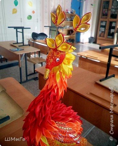 """Такую птичку смастерила Вика для участия в районной выставке-конкурсе. Одна из номинаций """"Пожарная ярмарка"""" фото 7"""