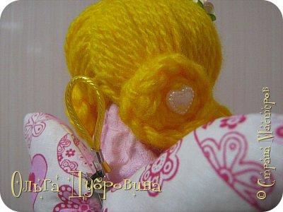 Кукла (фея) для хранения ватных палочек и дисков фото 6