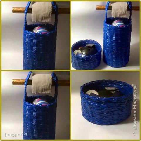 В Одноклассниках увидела такую идею для туалетной бумаги, понравилось и воплотила для себя.