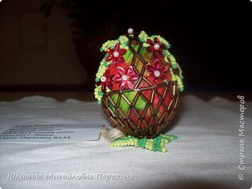 """На Станции туристов города Ливны, где я работаю, второй год подряд проходит муниципальный этап международного конкурса """"Пасхальное яйцо"""" Я решила Вам показать свои работы и работы моих обучающихся. фото 12"""