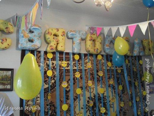 Здравствуйте!!! Сегодня хочу показать Вам свой фотоотчет со дня рождения, который организовывала моя подруга для своего сына. Очень многое она делала своими руками.  Но рассказывать много не буду - лучше смотреть фото!!)) Единичка - из нашего дня рождения, но адаптирована к теме (кому интересно, как она выглядела у меня - http://stranamasterov.ru/node/980843)  фото 13