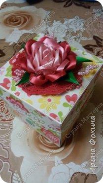 Коробочка с конфетами к дню рождения! фото 1