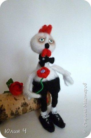 Здравствуйте всем! Хочу познакомить Вас с моей новой игрушкой - Петушок Романтик. Моя первая авторская игрушка, поэтому очень хочется оценки. фото 1