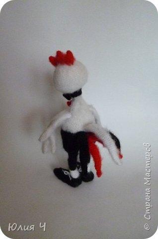 Здравствуйте всем! Хочу познакомить Вас с моей новой игрушкой - Петушок Романтик. Моя первая авторская игрушка, поэтому очень хочется оценки. фото 3