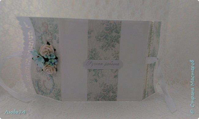 Всем доброго вечера! Сегодня у меня заказная открытка к дню рождения. Размер открытки 15х15 см, основа бумага для черчения пл 180 г/м2 , скрапбумага, стразы на клеевой основе, цветочки, вырубка, штампы. фото 14