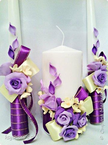 свечи свадебные,семейный очаг фото 1