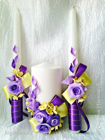 свечи свадебные,семейный очаг фото 3