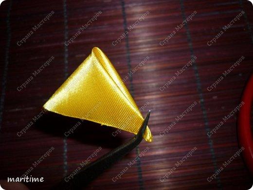 Вот лепесток канзаши, который и будем делать фото 4