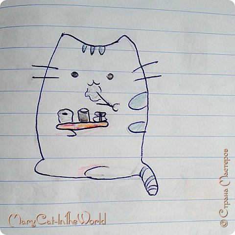 Привет! Сегодня я решила показать вам какие рисунки находятся у меня в ArtBook.  Приятного просмотра. фото 9