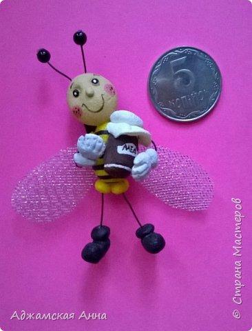 пчелка магнит фото 1