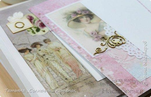 Текстильный фотоальбом для мамы фото 8