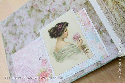 Текстильный фотоальбом для мамы фото 2
