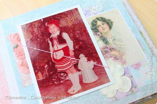 Текстильный фотоальбом для мамы фото 4