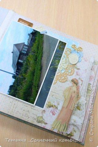 Текстильный фотоальбом для мамы фото 5