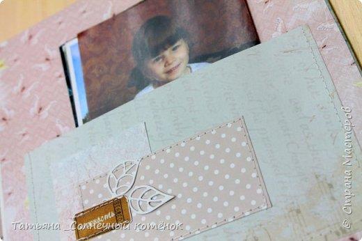 Текстильный фотоальбом для мамы фото 7