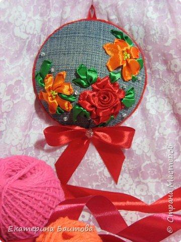 """Вот такие подарочки-игольницы  были приготовлены к 8 марта для родных и близких. """"Весеннее настроение"""" фото 5"""