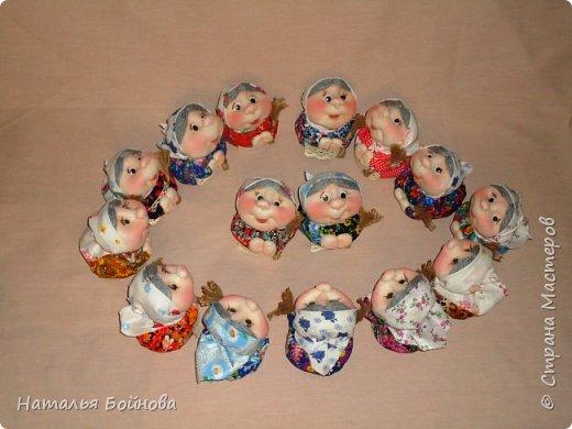 Добрый вечер СТРАНА!!! Всех кукольников с ПРАЗДНИКОМ!!! Вот такой строй Хозяюшек у меня сегодня появился в Международный день кукольника.... фото 1