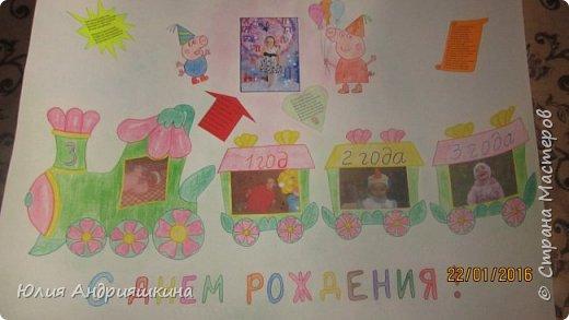 Вот такие стенгазеты делала на день рождения своим девчонкам. фото 3