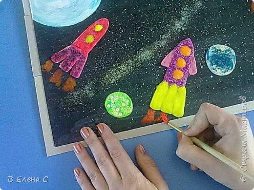 К сожалению в конкурсе поучаствовать не удалось, работы были сделаны чуть раньше без эмблемы конкурса. Работы коллективные, выполнены детьми младшей группы (3-4 года). фото 11