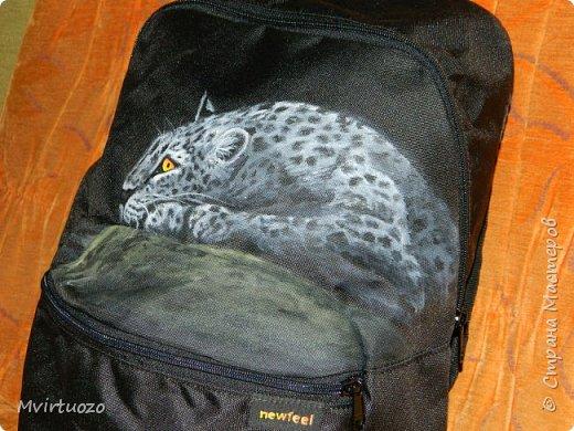 Два рюкзачка - пума и песик фото 3