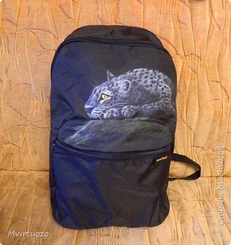 Два рюкзачка - пума и песик фото 2