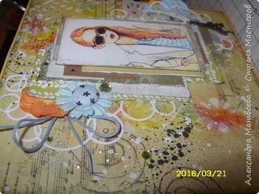штамповала, брызгала, рисовала, вырезала, клеила, кАпала... в итоге: фото 2