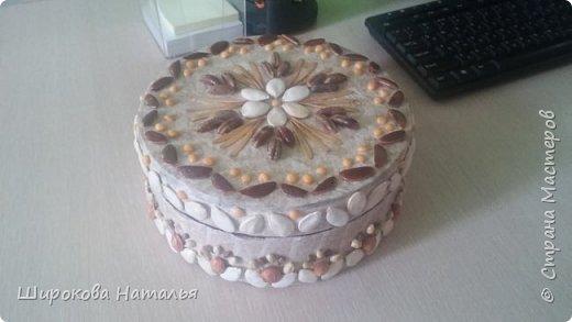 Доброе время суток, Мастера! Хочу показать Вам свою новую шкатулку, сделанную в подарок на день рождения коллеге. И не столько ее оформление (оно очень простое, можно сказать, детский вариант). А хочу представить новый материал, или способ его получить фото 1