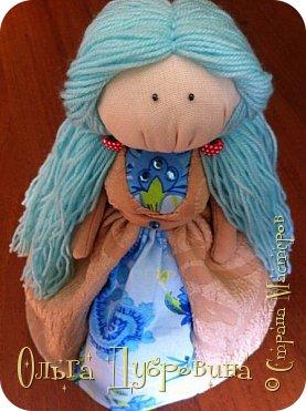 Мальвина. Кукла подарена подруге на день рождения. Очень ей подходит))) фото 1