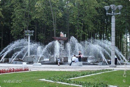 Доброго всем утра!!! Захотелось поделиться с вами настроением, воспоминанием о летнем вечере в Минске,у фонтана.. фото 1