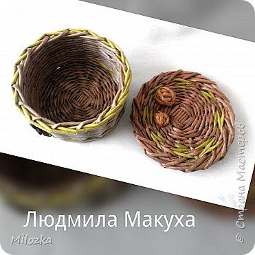 Шкатулка с цветком из акварельной бумаги, бирочка- декупаж салфеткой, шарики из бумажной лозы фото 5