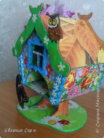 Всем добрый вечер или у кого день!!! Очередной чайный домик из хомячих запасов(осталось немножко) фото 2
