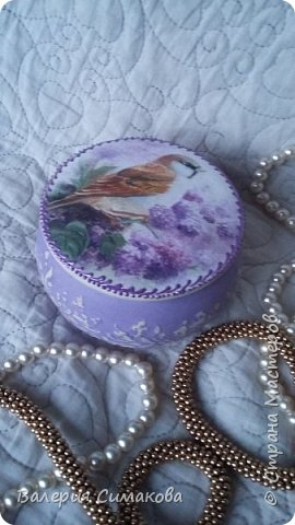 Маленькие шкатулочки... имитация старого серебра и фарфора) фото 10