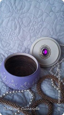 Маленькие шкатулочки... имитация старого серебра и фарфора) фото 12