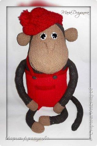 Всем приветик) К Новому году у нас родились вот такие вот обезьянки. начну показывать с самой большой)  фото 6
