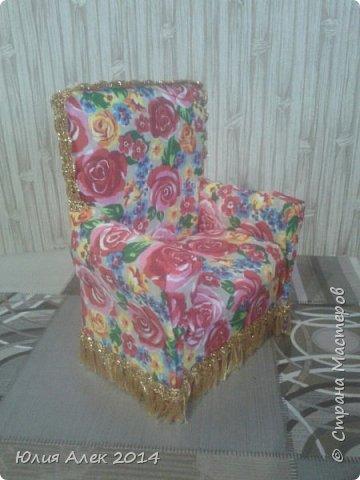 Кукольное кресло фото 1