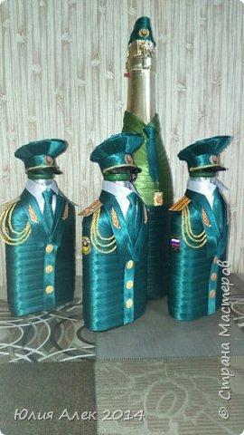 Подарочные бутылочки на 23 февраля фото 2