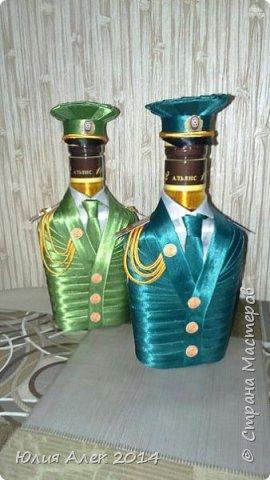 Подарочные бутылочки на 23 февраля фото 3