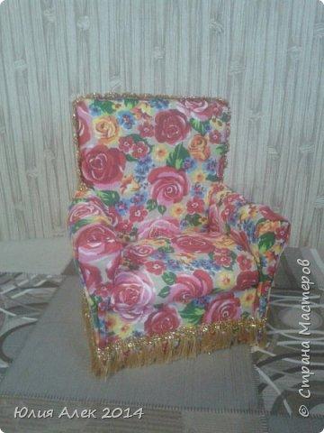 Кукольное кресло фото 2