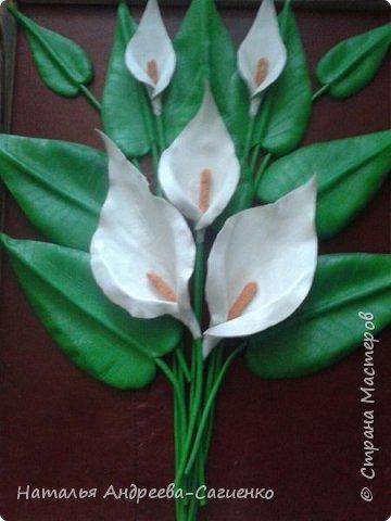 Кому интересно как сделать цветы из кожи предлагаю данный МК. фото 10