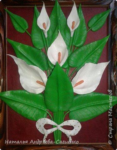 Кому интересно как сделать цветы из кожи предлагаю данный МК. фото 1