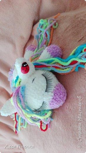 Вязанная пони-сонюшка фото 2
