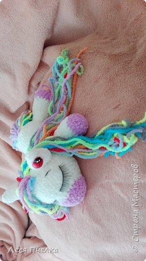 Вязанная пони-сонюшка фото 1