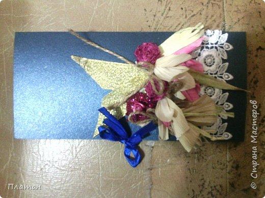 Открытка из остатков материалов,смешанная  работа,талаш,остатки от кружева,ленточки(утилизация остатков)