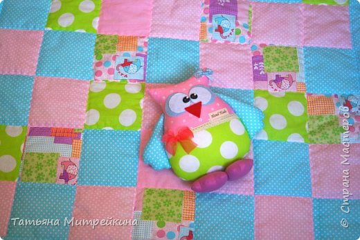 Детское одеяло фото 1